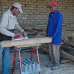 Poplar timber lintels are made